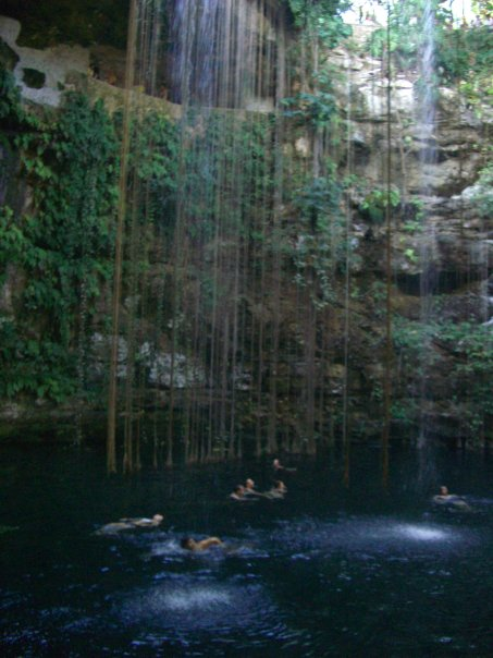 Ik Kil, Cenote in Messico