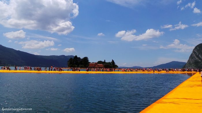 The floating piers.